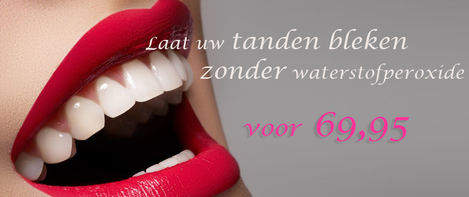 Zonder waterstofperoxide veilig uw Tanden bleken